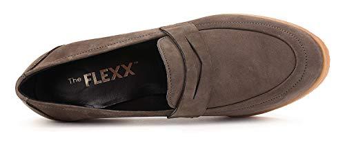 De Zapato Tacón Mujer Baggy Flexx Bibbo The Oscuro Marrón 7wqaxPO4nI