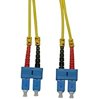 3M SC-SC Fiber Optic Patch Cable OS2 Singlemode G652 Armored Duplex PVC TiniFiber by Certicable