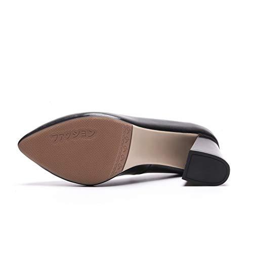 BalaMasa PU Femme 36 Noir Noir Compensées Sandales APL10946 5 HqarHC