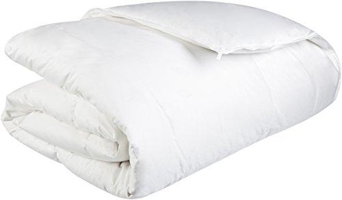 Pinzon All-Season Shed-Resistant White Down Comforter - Twin