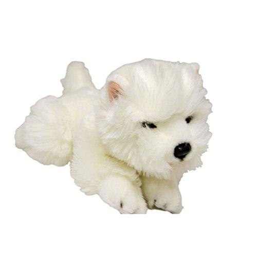 (Bocchetta Plush Toys Pookie West Highland White Terrier Puppy (Westie), Stuffed Animal, Size 29cm/11″)