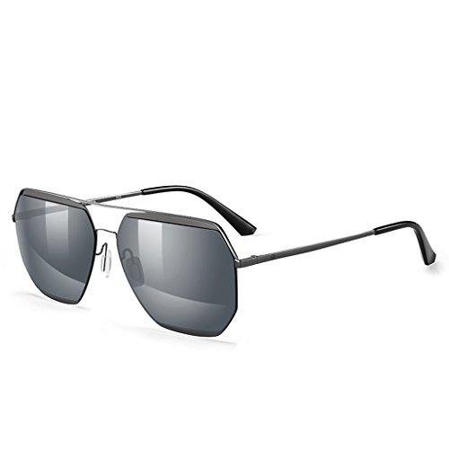 lunettes soleil Mode couple en de Black nylon couture HBn8q1