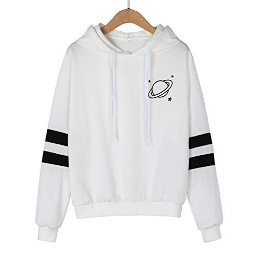 Camicia Tinta Impero DAMEN Bianco Manica ITISME TOPS Donna Corta Unita SwEIg