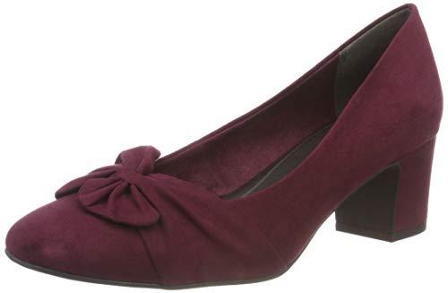 Rouge 22430 Marco 2 Tozzi 549 Bordeaux Escarpins Femme 21 549 2 wwt8OZqB
