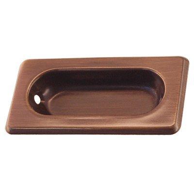 (WS-21AB Aged Brass Recessed Sash Window Lift - Antique Cabinet, Vintage Cupboard, Old Desk Reproduction Restoration Hardware + Free Bonus (Skeleton Key Badge) (6))