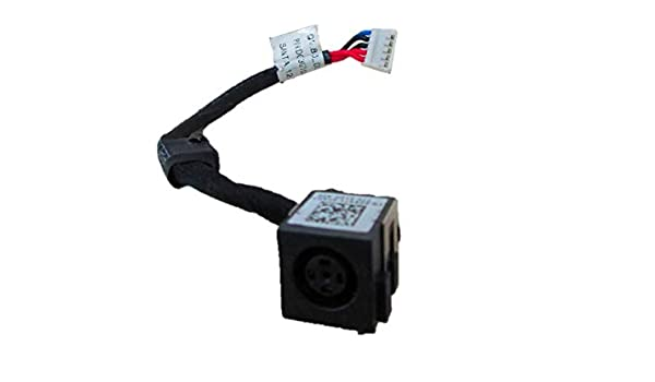 Power Jack Harness Port Connector Socket with Wire Cable E6430-ATG DXR7Y DC-in Jack for Dell Latitude E6430
