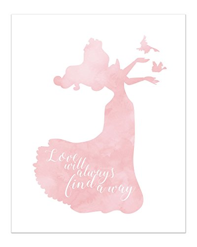 Summit Designs Aurora Disney Princess Inspirational Quote - Photo Print (8x10) Poster - Sleeping Beauty by Summit Designs