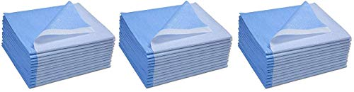 (Avalon Papers 359 Stretcher Sheet, Tissue/Poly, 40'' x 90'', Blue (Pack of 50) (Тhrее Pаck))