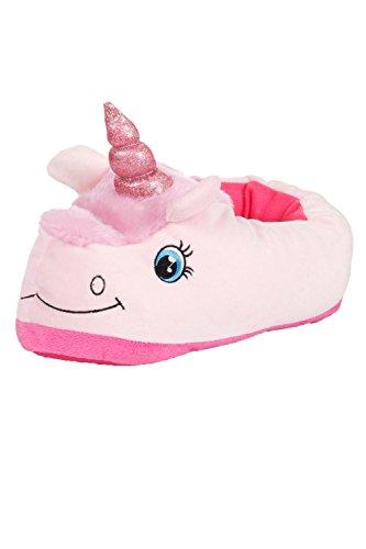 3D Animal Femmes Et Pour Chaussures Duveteux Licorne Rose Filles nouveauté Pantoufles Femmes 6wx7Y6z