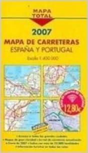 Mapa total carreteras España y Portugal 1:400000: Amazon.es: Anaya Touring Club: Libros