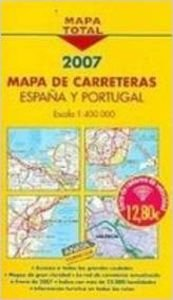 Mapa total carreteras España y Portugal 1:400000: Amazon.es: Anaya Touring Club: Libros