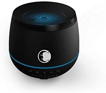 Mystic Moments Difusor ultras/ónico con Altavoz Bluetooth y Luces LED Negro 200 ml