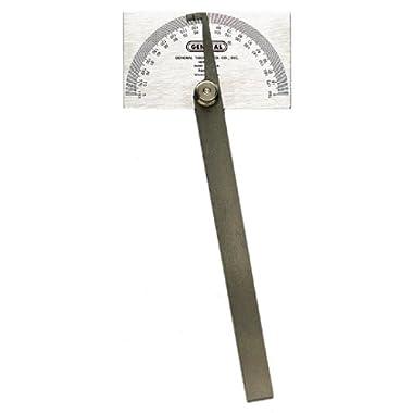 General Tools 17 Square Head Metal Protractor