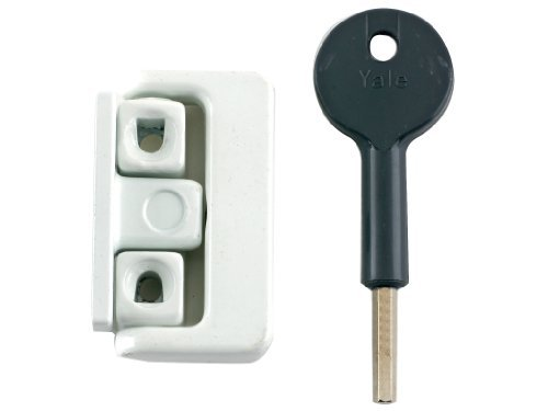 Yale Locks 8K101 Window Latches Multi Pack of 4 White Finish Visi Pack by Yale
