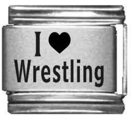 I Heart Wrestling Laser...