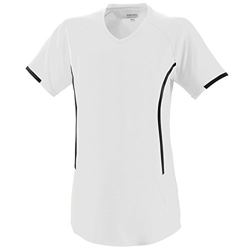 Augusta Sportswear Women's Heat Jersey XL White/Black ()