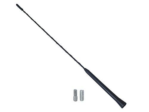 /¡Alta calidad Tornillo universal de repuesto para antena de techo de 41 cm color negro