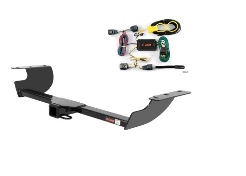 Chrysler 300 Hitch - Curt 13465-55562 Trailer Hitch and Wiring Package