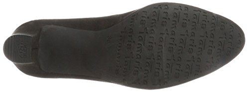 Para Tacón Tamaris black Negro Mujer 22420 Zapatos De wqqAxPf8H