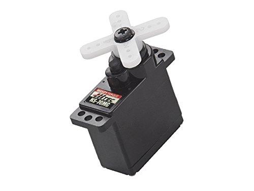 Hitec RCD Inc. HS-70MG Ultra Torque Analog Feather Servo, Top BB, HRC32070