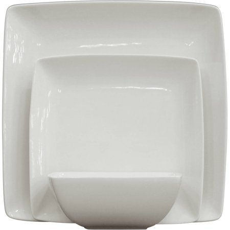 Better Homes and Gardens Stylish Coupe Square Design SSQ 12-Piece (Set of 2)