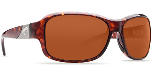 Sunglasses Costa Del Mar INLET IT 10 OCP TORTOISE COPPER - Girl Sunglasses Costa