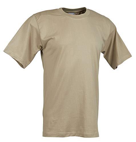 Military Uniform Supply Men's Moisture Wicking T-Shirt Sand - 2XL