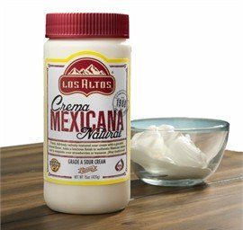 Crema Mexicana Natural Los Altos Cream TriPack 45 Oz by Los Altos
