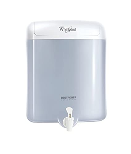 Whirlpool Destroyer EAT Filter 6 L EAT Water Purifier (White)