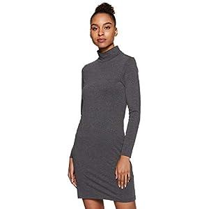 Amazon Brand – Symbol Women's Solid Body Con Full Sleeve Dress
