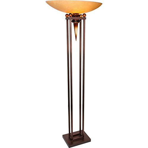 (Van Teal 752781 Triumphant You Will Remember Torchiere, Copper/Black)