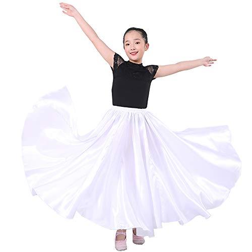 SANCAN Girls Children Dance Performance Skirt for