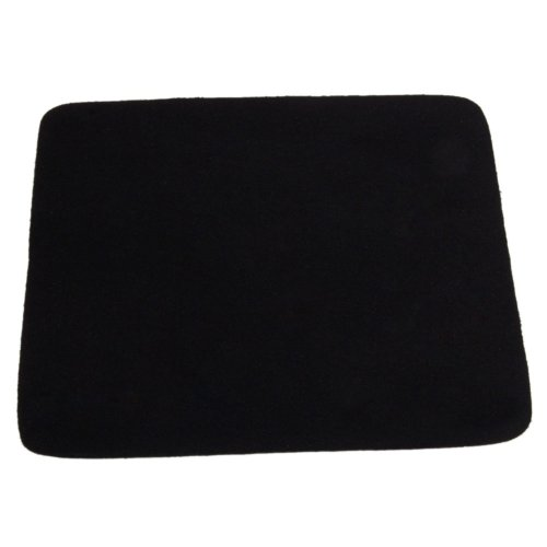 """MicroMall(TM) High Quality 8.27 X 7.09"""" Inch Mouse Pad Mat Black"""