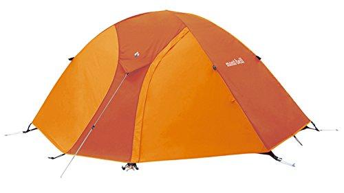 ズームインする断線世界に死んだモンベル(mont-bell) テント クロノスドーム1型 [1~2人用] ゴールデンオレンジ 1122490-GDOG