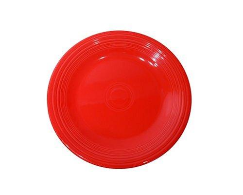 (Fiesta 7-1/4-Inch Salad Plate, Scarlet)