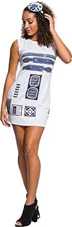 Rubie's Adult Star Wars R2-D2 Rhinestone Costume Dress Set, Small