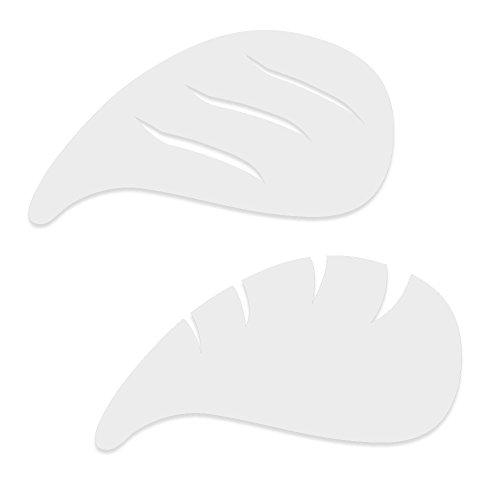 Airbrush Makeup Stencil (Dinair Airbrushing Professional Eyeliner, Eyebrow, Cateye Stencil)