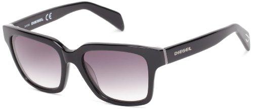 Diesel Plastic Sunglasses - Diesel DL00735405C Wayfarer Sunglasses,Black,54 mm