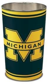NCAA Michigan Wolverines Wastebasket (Michigan Wastebasket)