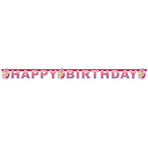 Barbie 2511; Guirnalda Feliz cumpleaños Ideal para Fiestas y ...