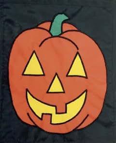 """13""""x 17"""", diseño de calabaza de Halloween bandera de Jardín"""