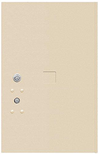 6 Tenant Doors (Salsbury Industries 3456P-SAN Replacement Parcel Locker Door and Tenant Lock for Standard 6 H 4C Pedestal Parcel Locker with Keys, Sandstone)