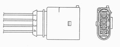 (NGK Resistor Sparkplug CR7E for Suzuki GW250 2015)