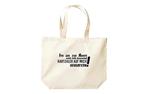 Sprüche Shirtstown Shopper Cabas Travail Je Drôles Au Mille Geh Grand Que Parce Naturel Se qRRt6wnT