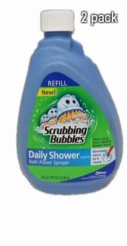 Scrubbing Bubbles Power Sprayer Daily Shower Cleaner Refill-30 Oz. (2 Pack) by Scrubbing Bubbles