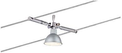 Paulmann 941.20 Seilsystem TogoLED Set Warmweiß 4x4W LED Chrom 94120 Seilleuchte Hängeleuchte