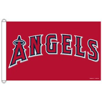 MLB Los Angeles Angels of Anaheim 3-by-5 foot Flag
