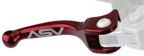 ASV Inventions BHF30-R F3 Red Universal Front Brake Lever for Honda/Yamaha/Suzuki/Kawasaki
