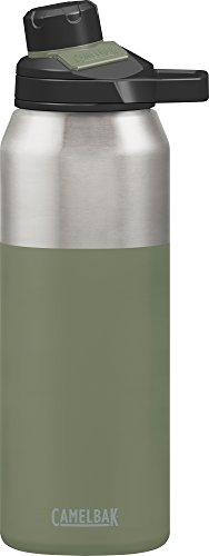 CamelBak Chute Mag Stainless Water Bottle, 32oz, Olive