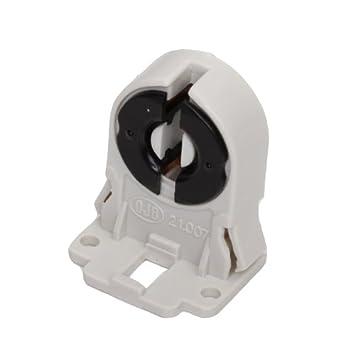 SmartDealsPro Screw Type T8 Fluorescent Light Socket Lamp Holder      Amazon.com
